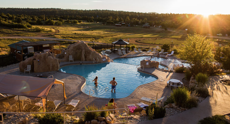 Zion Crest Campground pool